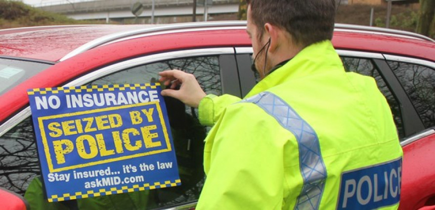 Police Set Sights on Targeting Uninsured Drivers