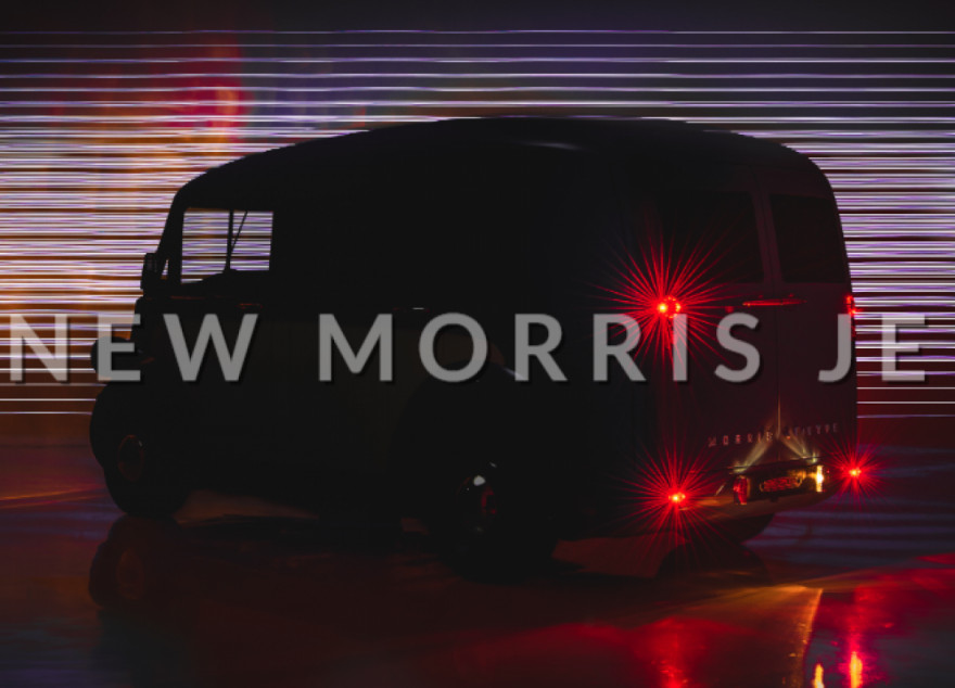 The All-New, All-Electric Morris JE