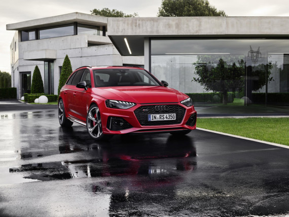 Meet Audi's Flagship Avant - The All-New RS4 Image 2