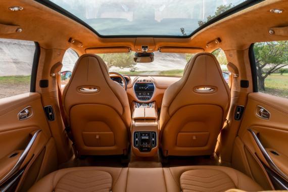 Aston Martin Unveil Their First Ever 4x4 Image 0