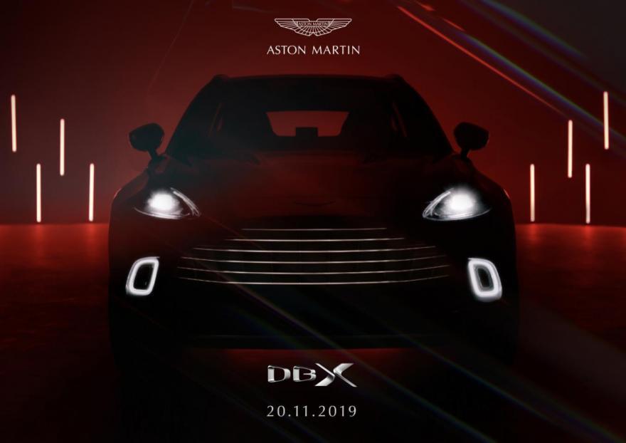 Aston Martin Unveil Their First Ever 4x4