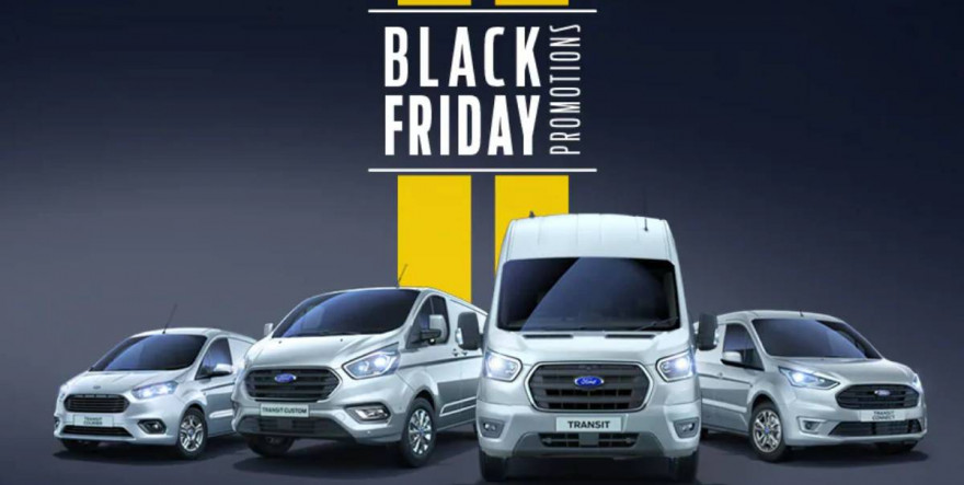 2019 Black Friday Savings on Ford Commercial Vehicles