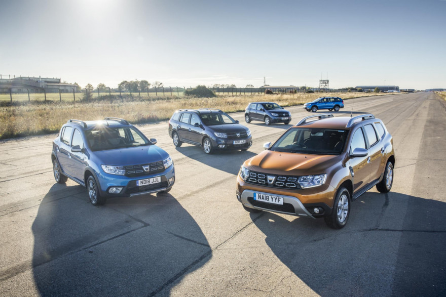 Dacia Finance Offers for 2019