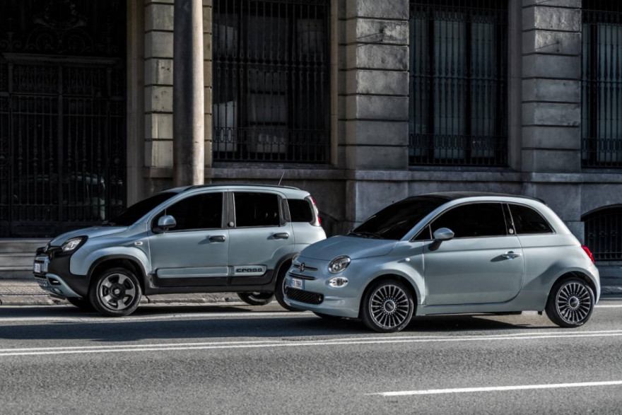 FIAT Introduce Hybrids to Their City-Car Lineup