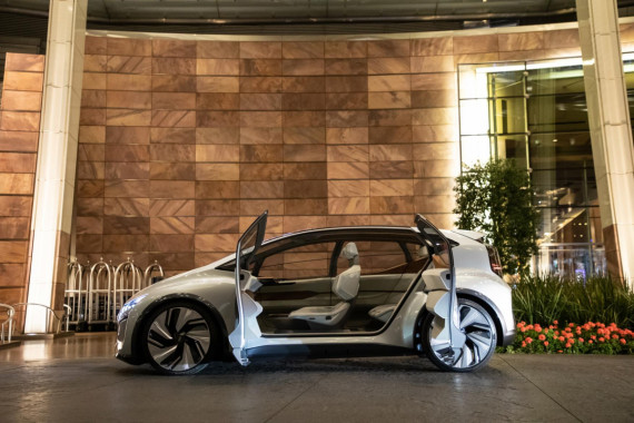 Audi Present Their AI:ME in Las Vegas Image