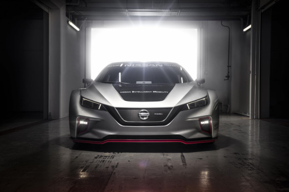 Nissan Take Their Electric Potential from the Road to the Track Image