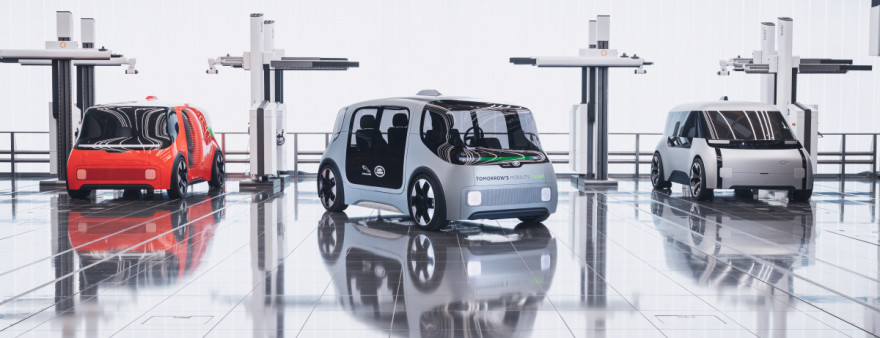 Jaguar Land Rover Show Off Their Vision for Future Mobility
