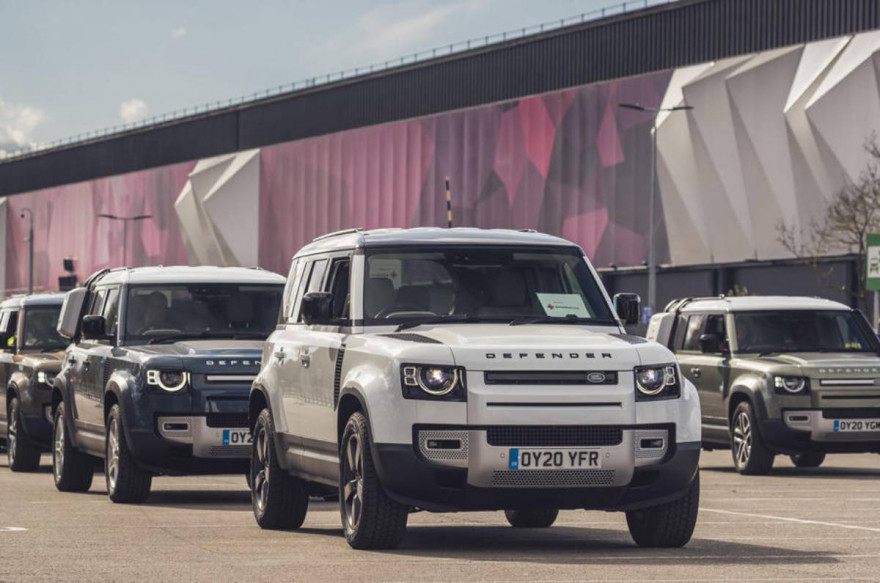 Jaguar Land Rover Step Up To Help Fight Against the Coronavirus