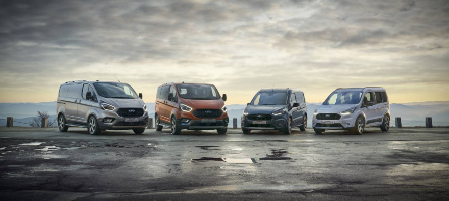 Ford Tourneo & Transit Connect Active: New SUV Styling For 2020