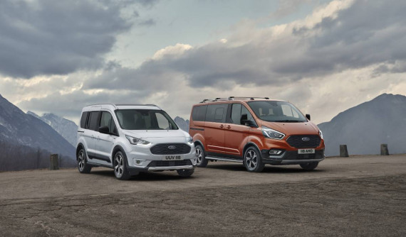 Ford Tourneo & Transit Connect Active: New SUV Styling For 2020 Image