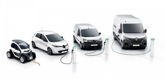 Renault Hits Electric Vehicle Sales Milestone, Plus Range Overview Image