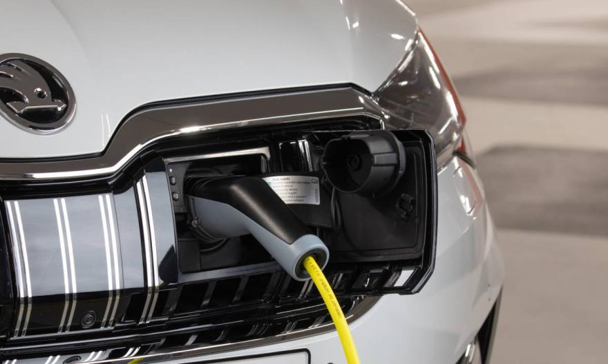 ŠKODA Launches Voice Command Car Charging, Via Alexa