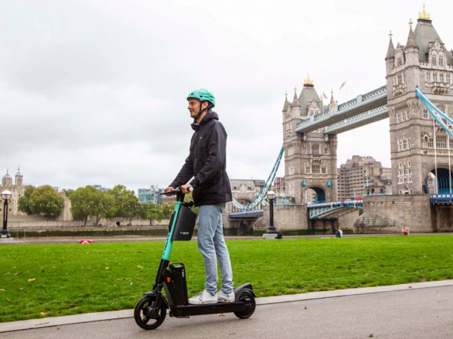 New E-Scooter Trial: Tier Prepares To Launch In UK