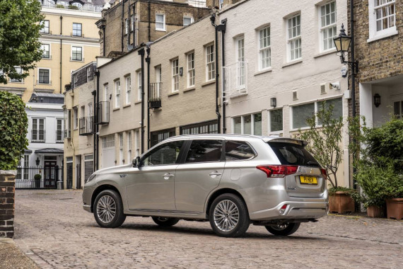 Mitsubishi Outlander PHEV Remains a Top Selling Plug-In Hybrid in 2020 Image