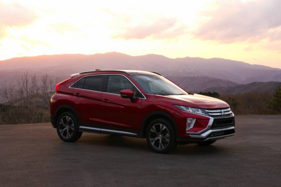 Get up to £3,500 off the New Mitsubishi Eclipse Cross Image
