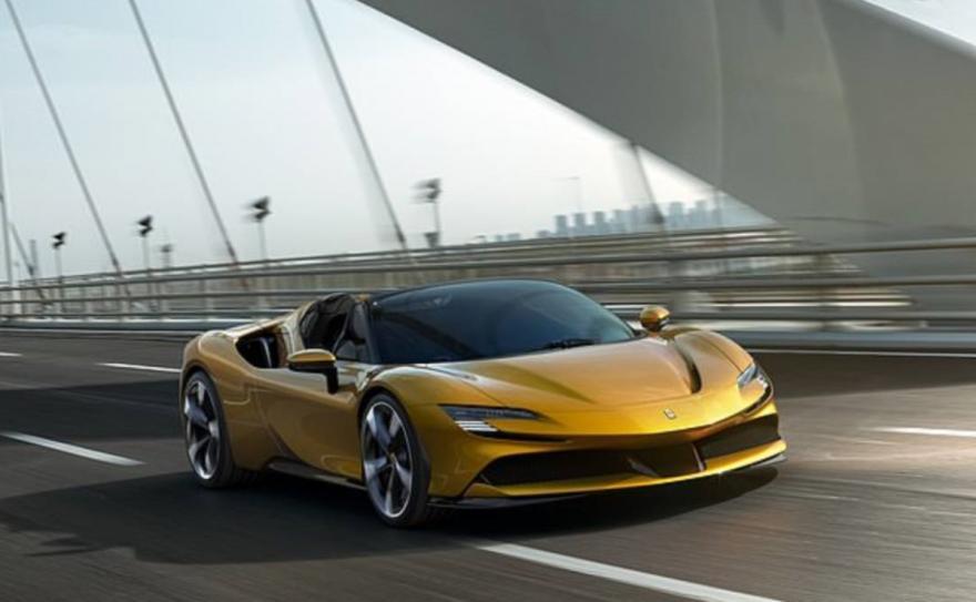 Ferrari SF90 Spider: 1,000 HP, 211 MPH, £415,000