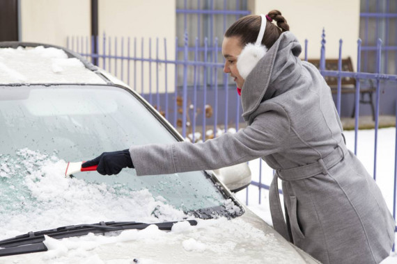 Warning: Clear Windscreen This Winter Or Face £2,500 Fine Image