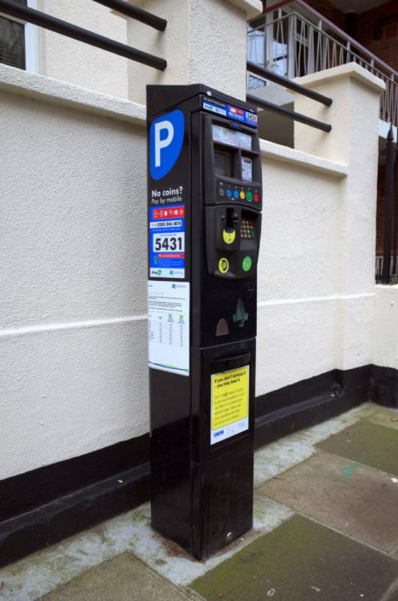 Parking Revolution: Pay To Park Via Your Dashboard Image