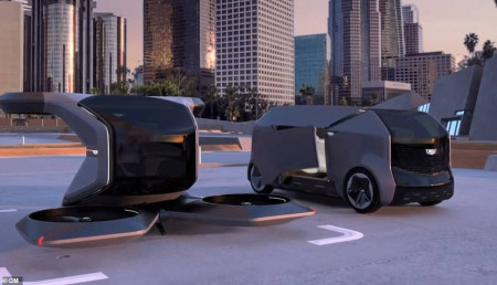 New Flying Cadillac: Soar Over Traffic In A Flying Taxi