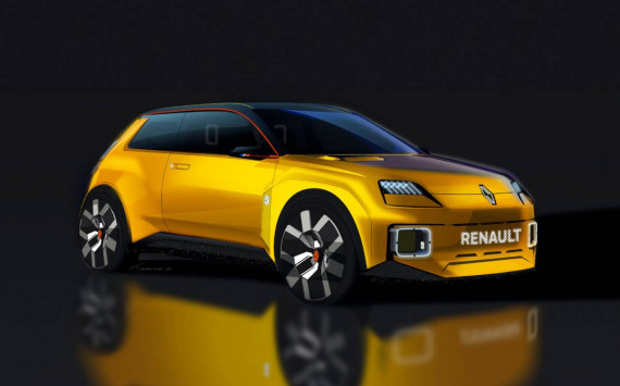 The Rebirth of the Renault 5 as a New Electric Supermini Image