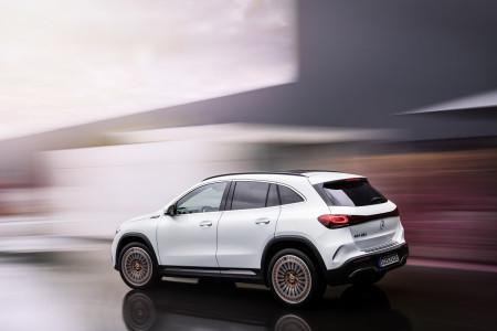 Mercedes-Benz EQA electric SUV launches in the UK
