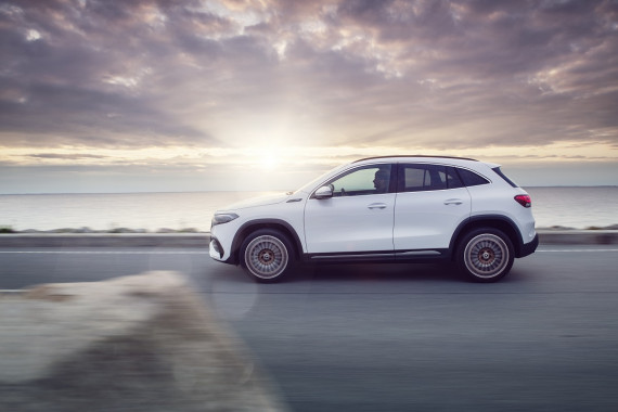 Mercedes-Benz EQA electric SUV launches in the UK Image