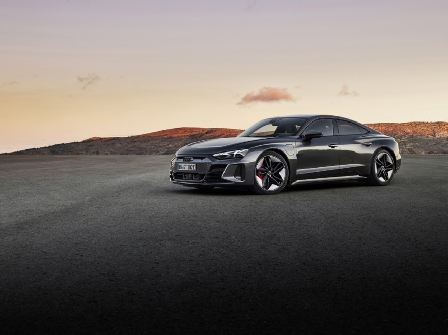 First look at the Audi e-tron GT