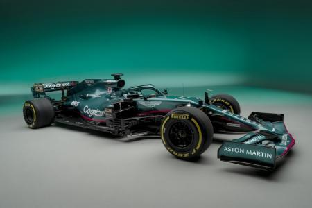 Aston Martin unveils stunning new F1 car