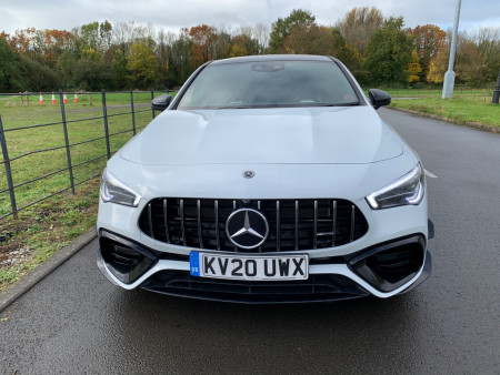 Mercedes-Benz AMG CLA 45 S 4MATIC+ Plus Coupe