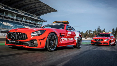 Aston Martin and Mercedes-AMG reveal new safety cars