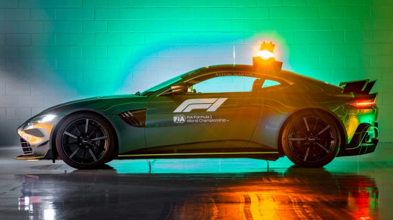 Aston Martin and Mercedes-AMG reveal new safety cars Image