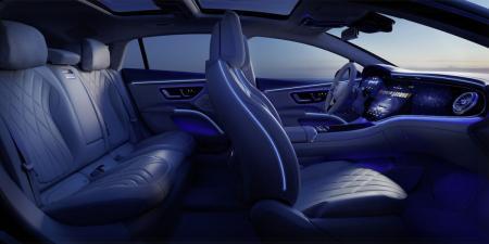 New Mercedes-Benz EQS interior revealed