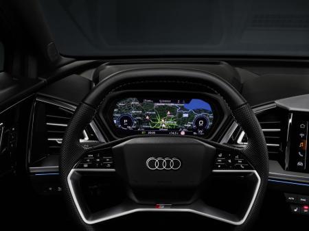 New Audi Q4 e-tron revealed