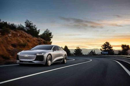 Audi A6 E-Tron concept revealed at Auto Shanghai 2021