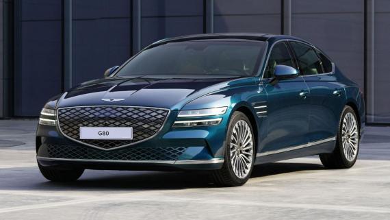 Genesis Electrified G80 revealed at Auto Shanghai 2021 Image