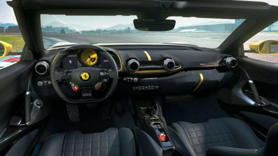 Ferrari unleashes jaw-dropping 812 Competizone Image