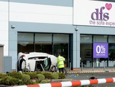 Reckless racers jailed after DFS smash