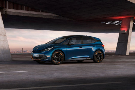 First look at the CUPRA Born
