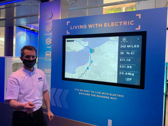 Ford Go Electric Roadshow Image