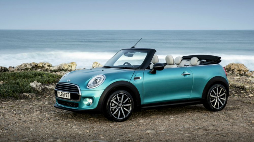 New MINI Convertible goes electric for 2025