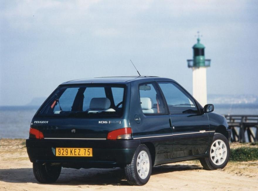 Peugeot 106 celebrates its 30th!