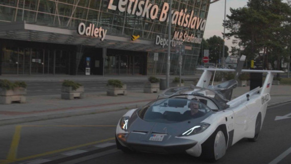 Flying car completes 35 minute test Image