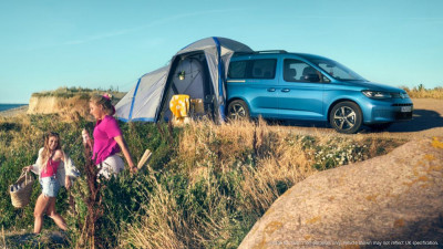 Thinking of a staycation? The Volkswagen Caddy California could be for you...