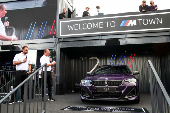 New BMW M240i xDrive Coupe revealed at Goodwood Image