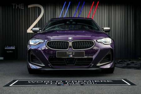 New BMW M240i xDrive Coupe revealed at Goodwood