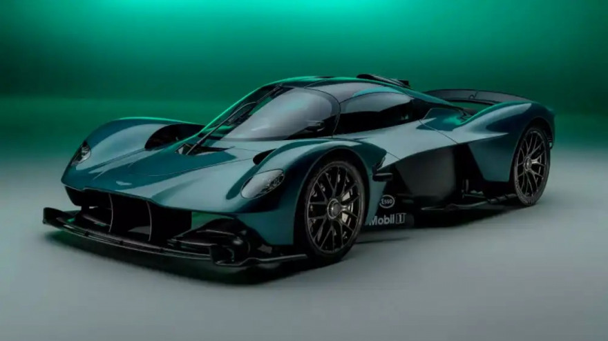 Aston Martin Valkyrie Roadster marks 70 years in America