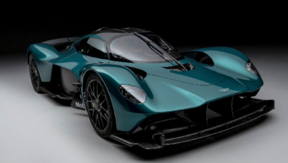 Aston Martin Valkyrie Roadster marks 70 years in America Image