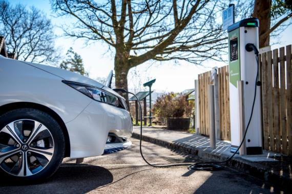 Electric Car Maintenance Image