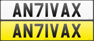 DVLA bans rude '71' registration plates
