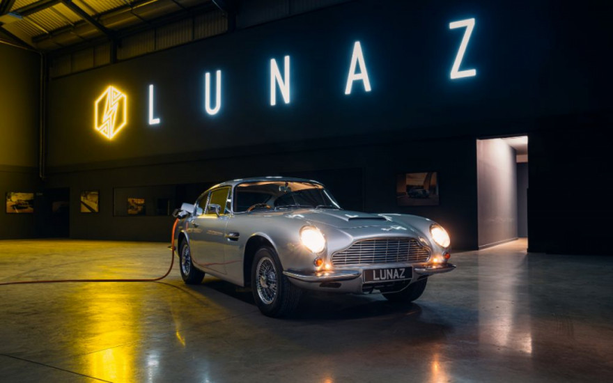 1960s Aston Martin DB6 goes electric for £1 million
